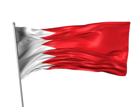 Bahrain flag  photo