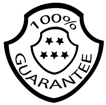 best security: guarantee stamp