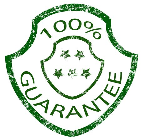 guarantee stamp Stock Photo - 3887795