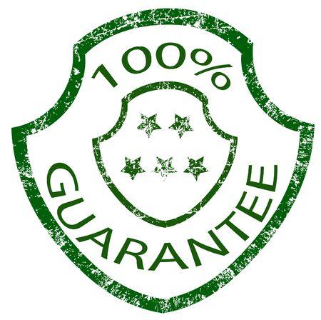 guarantee stamp Stock Photo - 3887795