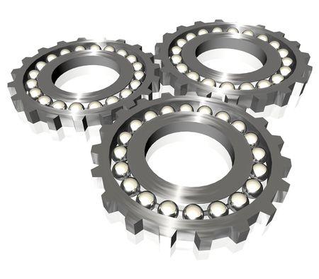 industrial gears Stock Photo - 3973226