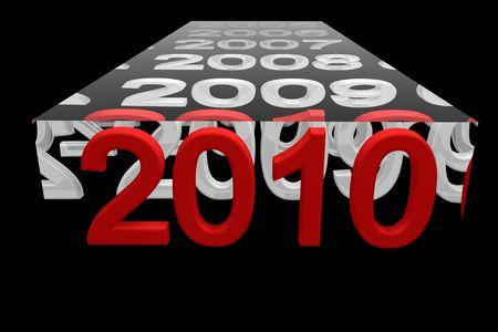 almanac: 2010 Stock Photo