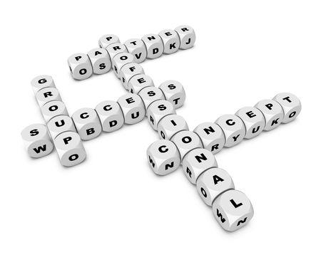 crossword Stock Photo - 6377398