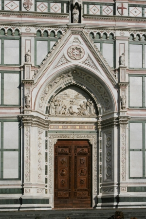 The Basilica of Santa Croce in Florence photo