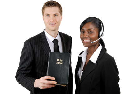 This is an image of christian counselling team. photo