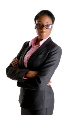 This is an image of a confident business woman.  Stock Photo - 9393188