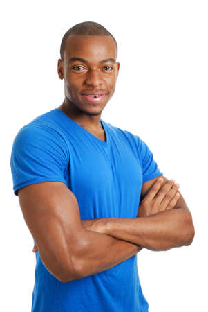This is an image of a confident male student. Stock Photo