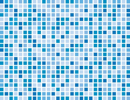 background pattern: Abstract blue boxes background pattern