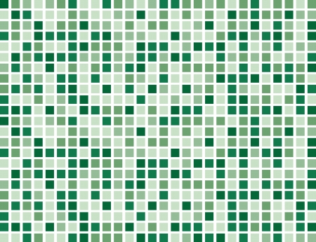 Abstract Green boxes background pattern