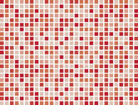 Abstract red boxes background pattern  Stock Vector - 14358366