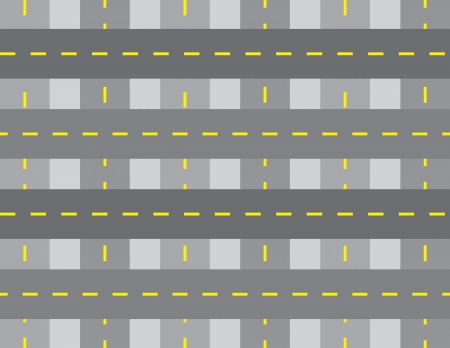 weaved: Seamless weaved road background with lines