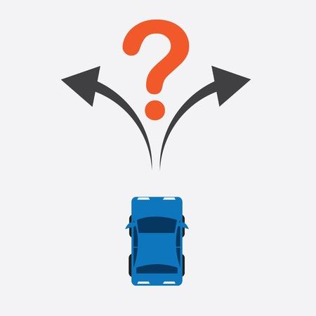 Bovenkant van de auto zeker weet waar te draaien