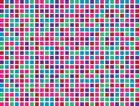 Abstract colored boxes background pattern  Illustration