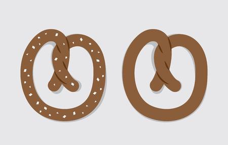 pretzel: Large soft pretzel salted and unsalted