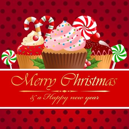 weihnachtskuchen: Weihnachtsgebäck und Süßigkeiten.