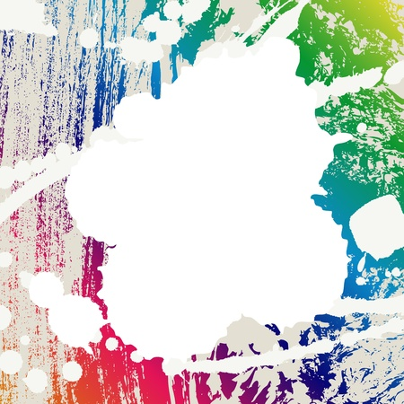 coloful: Abstract blots coloful creative background. Vector illustration.