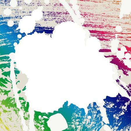 grafiti: Blots background. Vector illustration.