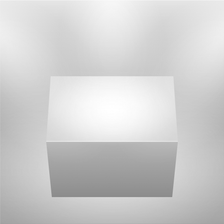 3d isolated empty podium. Vector illustration. Stock Vector - 15562253