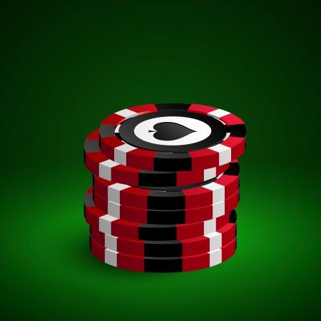 texas hold'em: Poker chips