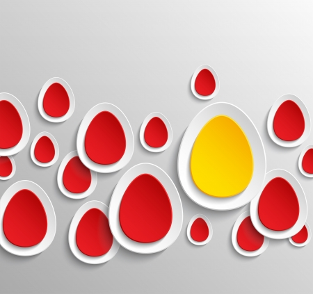Easter eggs abstract background  Vector illustration Stock Vector - 18561126