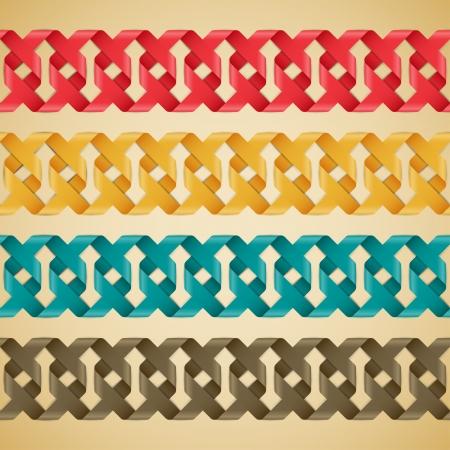 Abstract seamless pattern background. Vector illustration. Illustration
