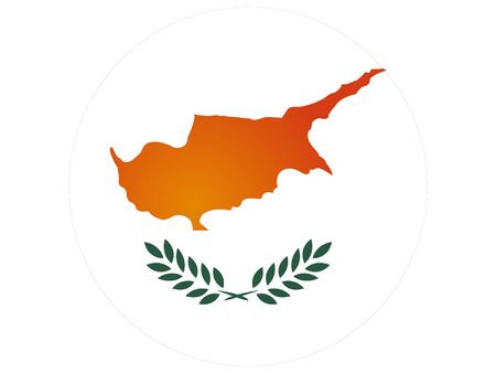 vector illustration of Flag of Cyprus 向量圖像
