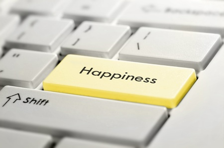 Keyboard button Happiness