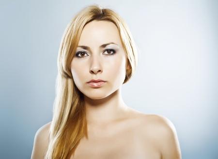 Beauty portrait of a blond girl Stock Photo - 10683691