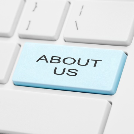 About us keyboard button Stock Photo - 11496813