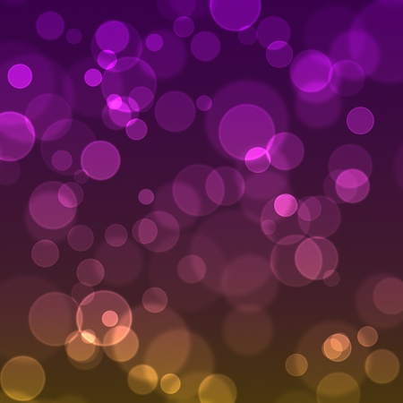 Blurred sparkles on a gradient