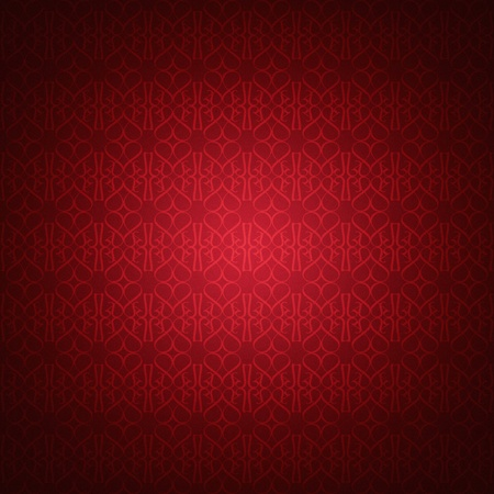 Heartshaped wallpaper-pattern with texture Stock Photo