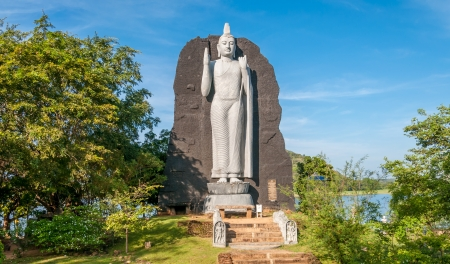 sigiriya: Buddha in Sigiriya Stock Photo