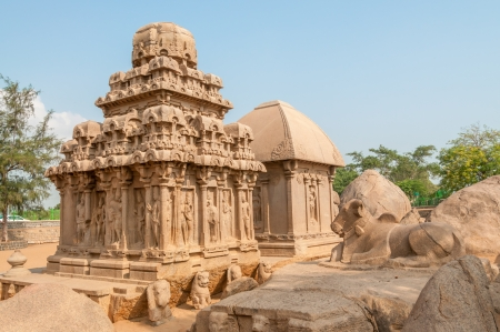 mamallapuram: In Five Rathas Complex