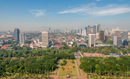 Jakarta View Stock Photo