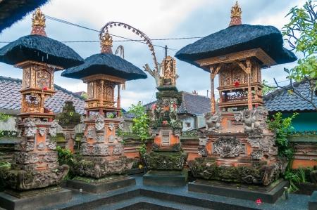 stupas: Stupas in Bali Stock Photo