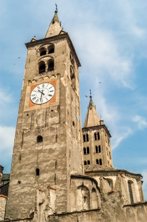 aosta: Towers in Aosta
