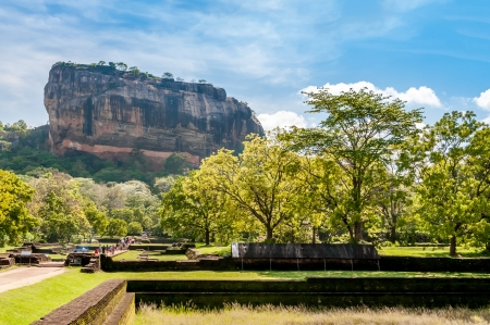 Sigiriya Mountain photo