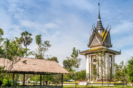 killings: Buddhist Stupa in Choeung Ek - Killing Fields