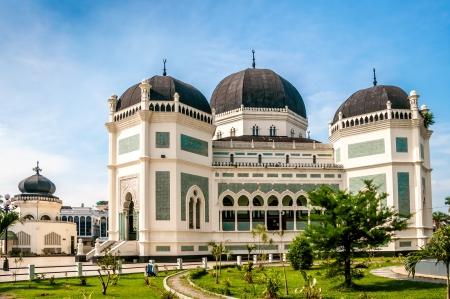 グランド モスク - メダン 写真素材