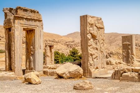 fars: Ruins of Persepolis Stock Photo