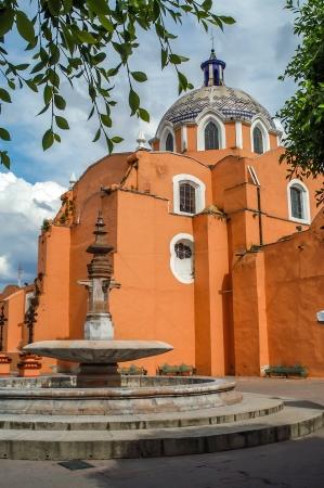 san jose: Church San Jose in Tlaxcala Stock Photo