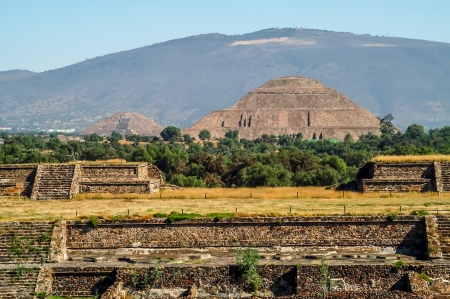Pyramid of The Sun - Teotihuacan photo