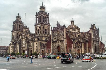 metropolitan: Mexico City Metropolitan Cathedral  Mexico D F