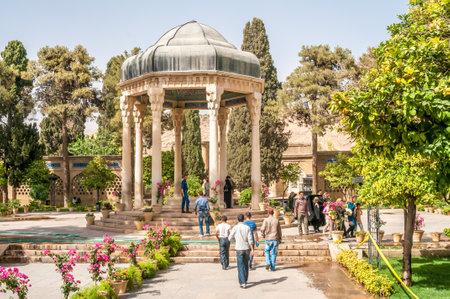 hafez: Tomb of Iran Poet Hafez in Shiraz