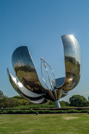 The metal flower of Buenos Aires