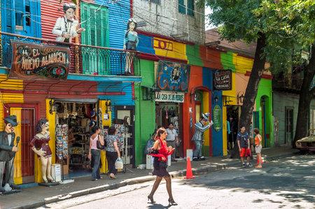 la boca: In The Streets of La Boca - Buenos Aires