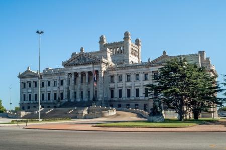 Parlament - モンテビデオ、ウルグアイの家 写真素材