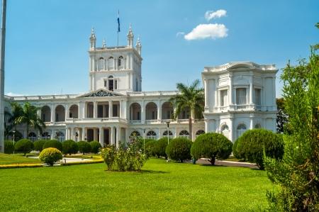 Paraguay: Palais pr�sidentiel � Asuncion, Paraguay Banque d'images