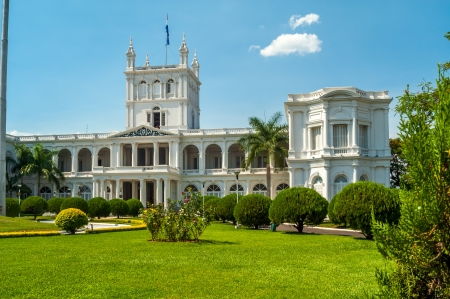 Presidential Palace in Asuncion, Paraguay Stock Photo