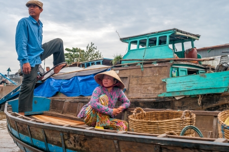 can tho: Life on The Mekong River  Can Tho,Vietnam